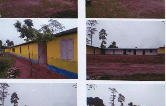 ईलाका प्रहरी कार्यालय दिङला भवन निर्माण