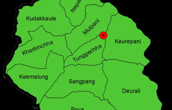 GIS map of Shadananda Municipality